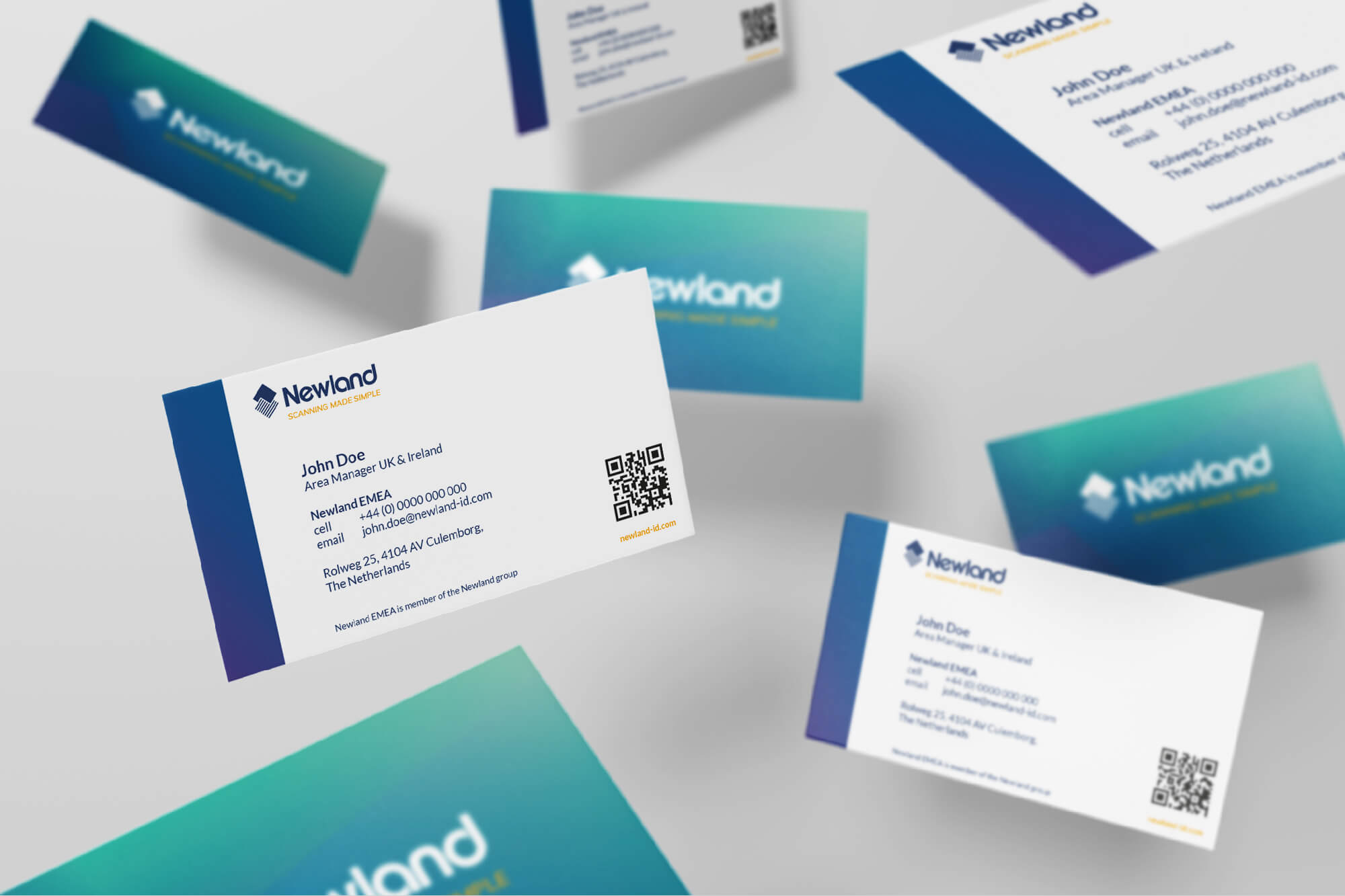 BuroBureaux_newland-corporate-identiteit-stationary-business-cards
